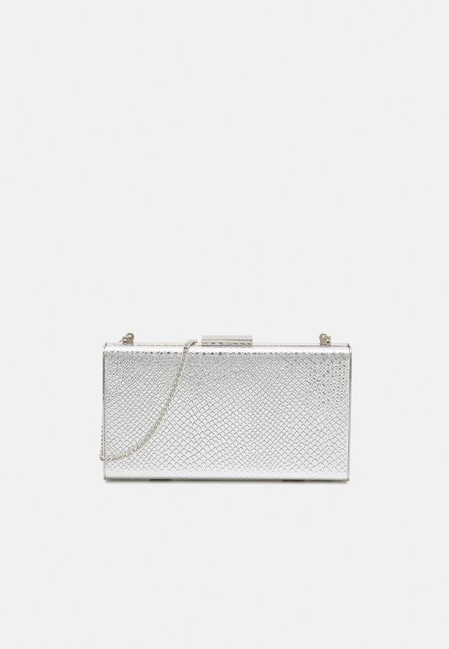 BOX BAG  - Clutch - silver-coloured