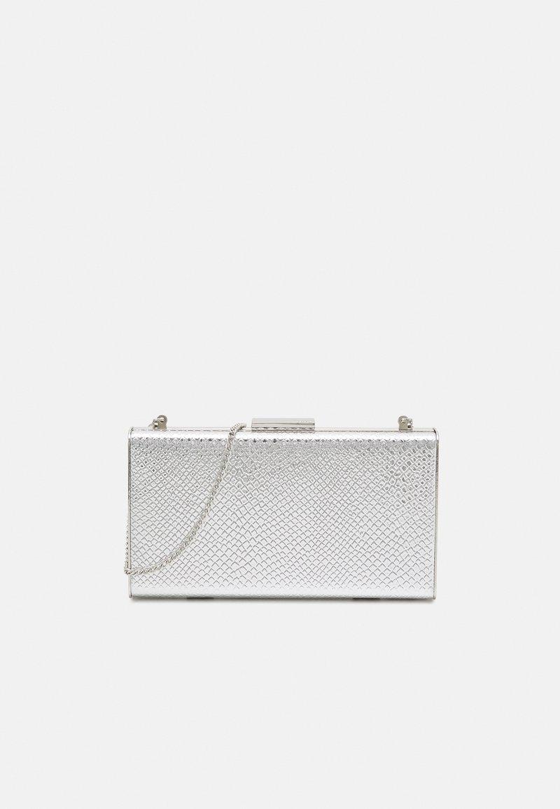 PARFOIS - BOX BAG  - Clutch - silver-coloured