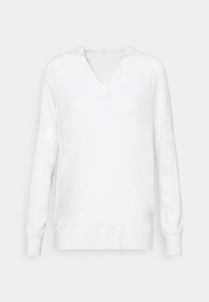 CASH PLUS - Jumper - white