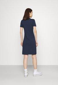 Fila - CORA DRESS - Sukienka z dżerseju - black iris - 2