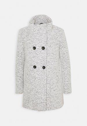ONLNEWSOPHIA COAT - Short coat - cloud dancer/melange