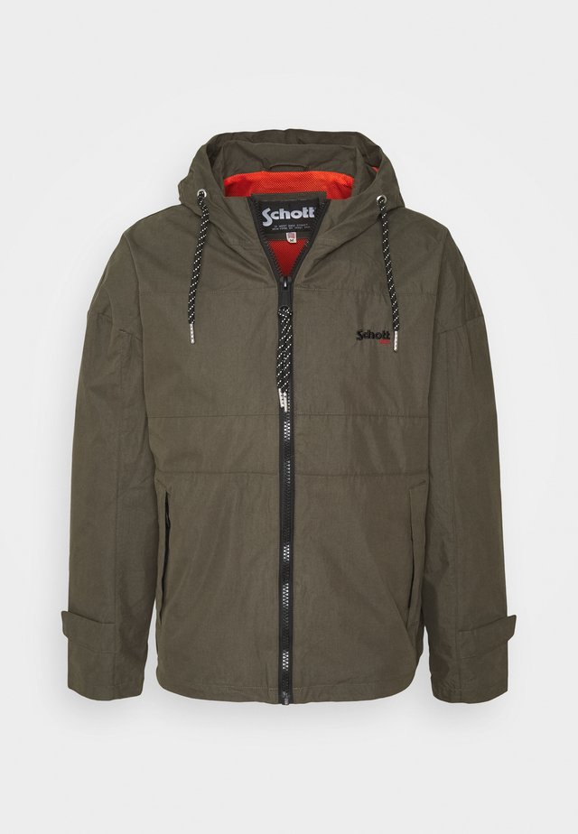 Summer jacket - military green