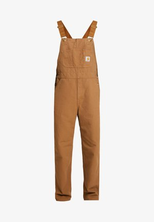 BIB OVERALL DEARBORN - Dungarees - hamilton brown rinsed