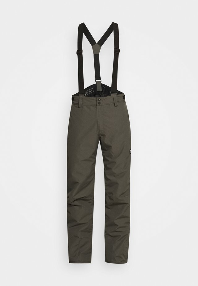 FOOTSTRAP MENS SNOWPANTS - Skibroek - pine grey