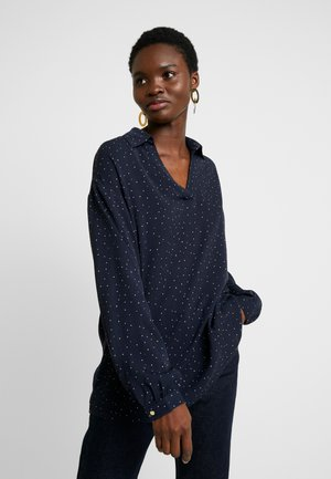 ANASTACIA - Bluser - graphic dot navy