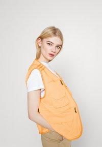 adidas Originals - Waistcoat - acid orange - 5