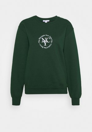 SPORTY CIRCLE - Sweatshirt - green