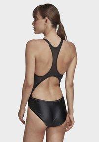 adidas Performance - GLAM-ON SHINY SWIMSUIT - Swimsuit - black - 1