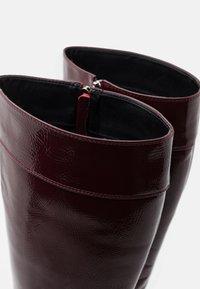 RAID - KOLUMN - Bottes à talons hauts - burgundy - 5