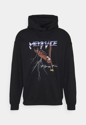LIGHTNING EAGLE REGULAR HOODIE - Sweatshirt - black