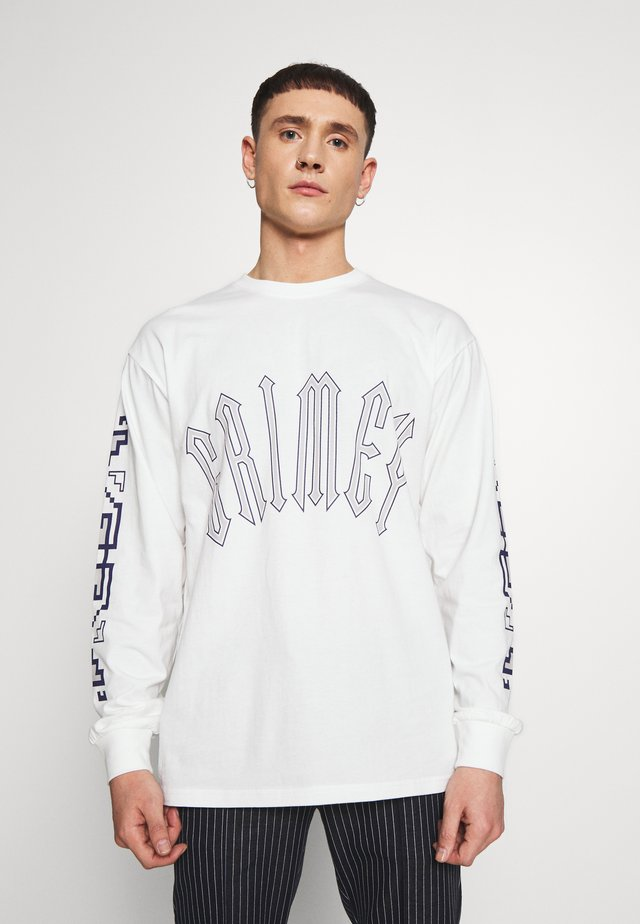 LONG SLEEVE TEE - Langarmshirt - white