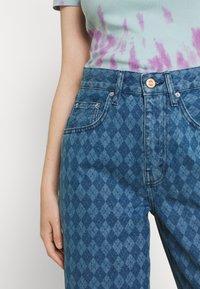 BDG Urban Outfitters - ARGYLE MODERN BOYFRIEND  - Jeans straight leg - light vintage - 5