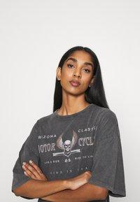 Even&Odd - Print T-shirt - black - 3