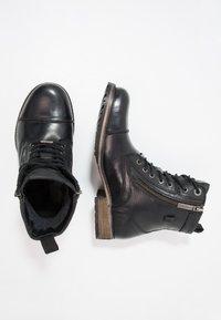 Pepe Jeans - MELTING ZIPPER NEW - Bottines à lacets - black - 1