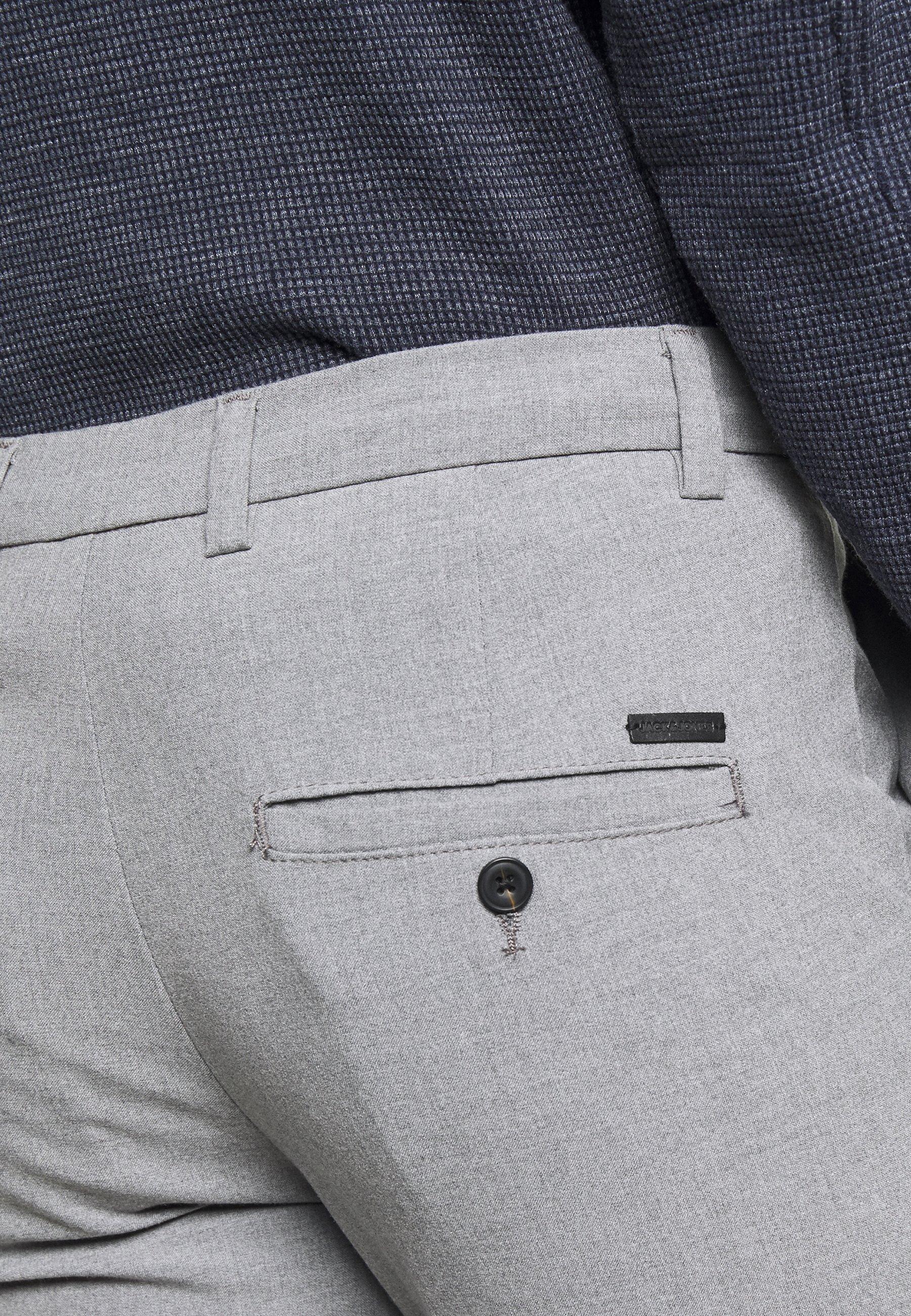 Jack & Jones Jjimarco Jjconnor - Bukse Grey Melange