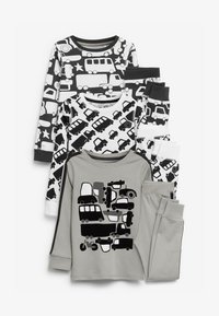 Next - 3 PACK TRANSPORT SNUGGLE  - Pyjama set - grey - 0