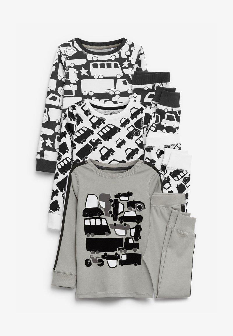 Next - 3 PACK TRANSPORT SNUGGLE  - Pyjama set - grey