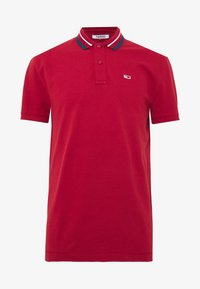 Tommy Jeans - CLASSICS TIPPED - Polo - wine red - 0