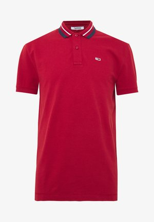 CLASSICS TIPPED - Koszulka polo - wine red