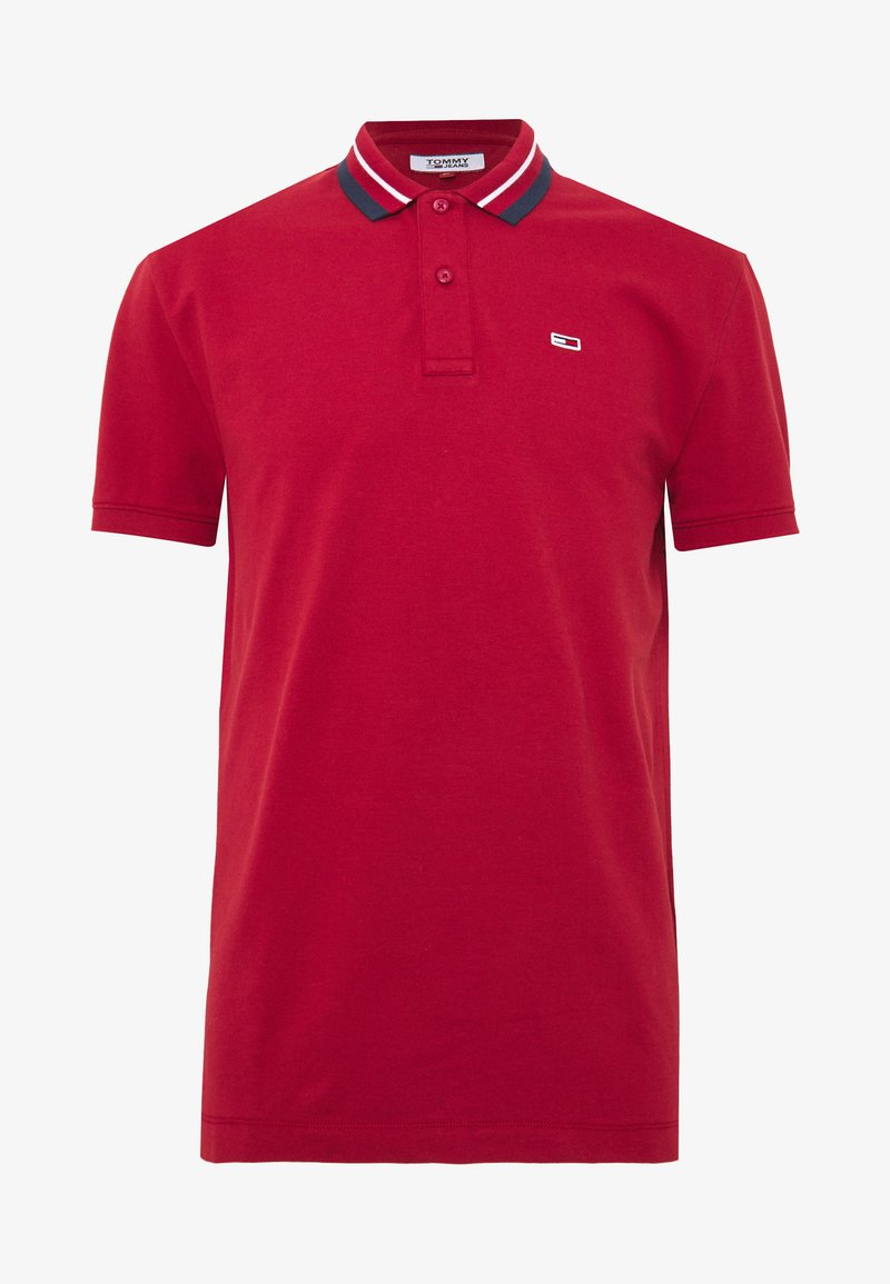 Tommy Jeans - CLASSICS TIPPED - Polo - wine red