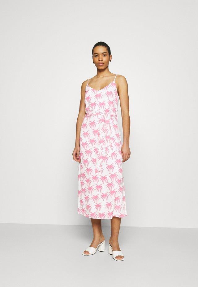 SUNSET DRESS - Vestito estivo - white/pink