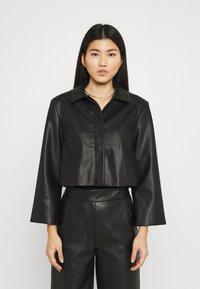Stylein - VEREL - Faux leather jacket - black - 0