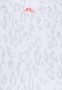 J.LINDEBERG - PRINT GOLF DRESS - Sports dress - grey/white - 2