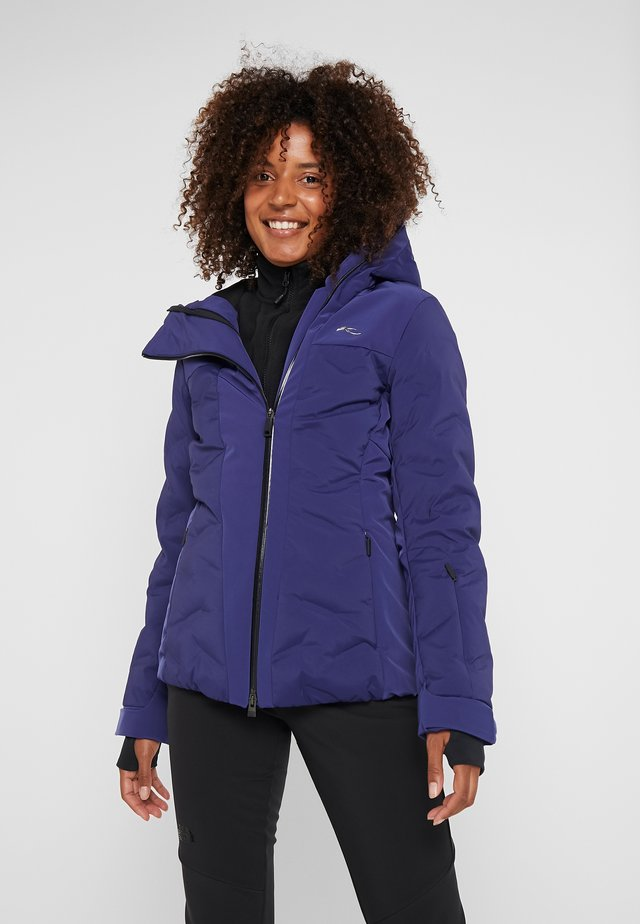 WOMEN ELA JACKET - Ski jas - into the blue