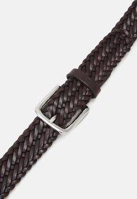 Anderson's - BELT UNISEX - Pletený pásek - brown - 3