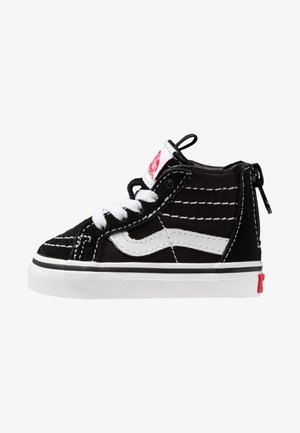 TD SK8 ZIP - Dětské boty - black/white
