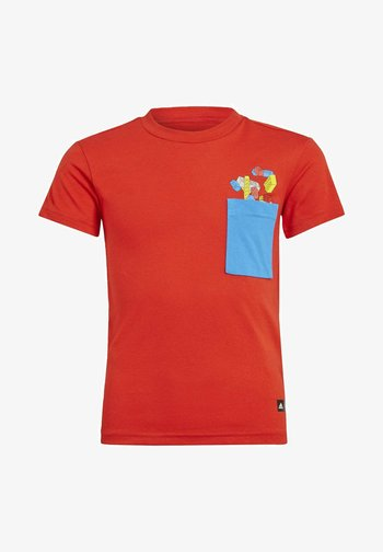 X LEGO CLASSIC TRAINING WORKOUT - Print T-shirt - red