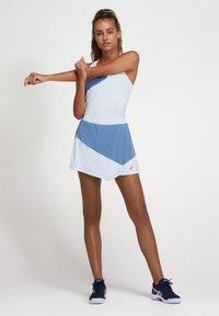 ASICS - A-snit nederdel/ A-formede nederdele - grey floss/soft sky - 1