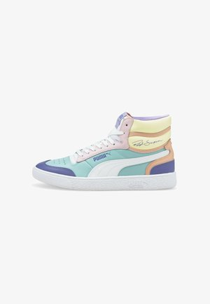 RALPH SAMPSON - Korkeavartiset tennarit -  blue/white/pink