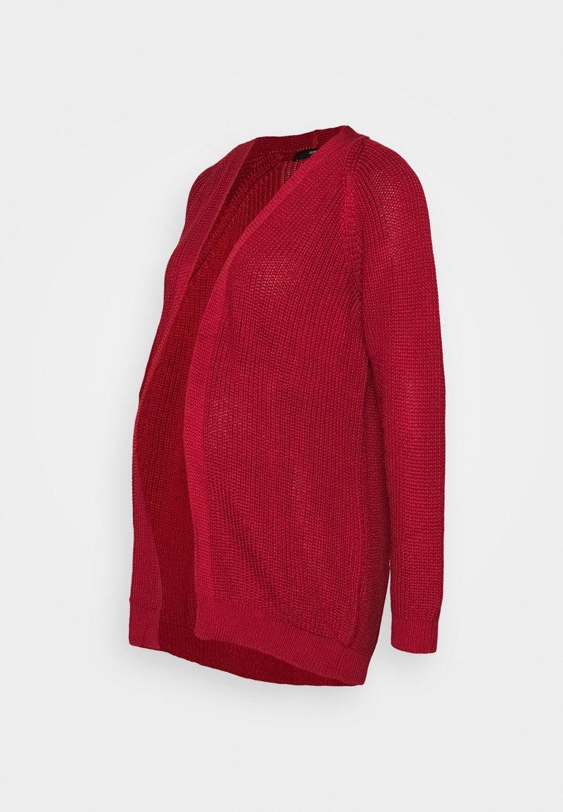 Supermom - CARDIGAN - Cardigan - tango red