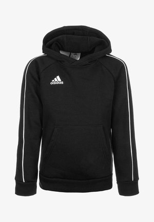 CORE - Kapuzenpullover - black/white