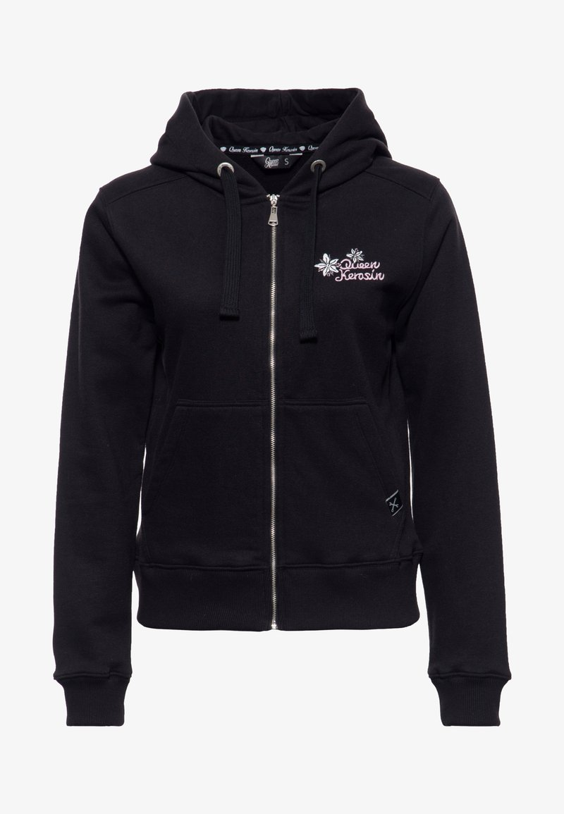 Queen Kerosin - Zip-up hoodie - schwarz