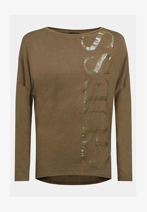 KAROLINA - Long sleeved top - braun