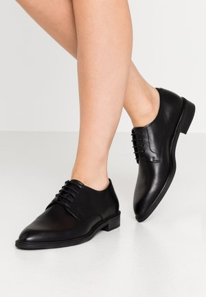 FRANCES - Veterschoenen - black
