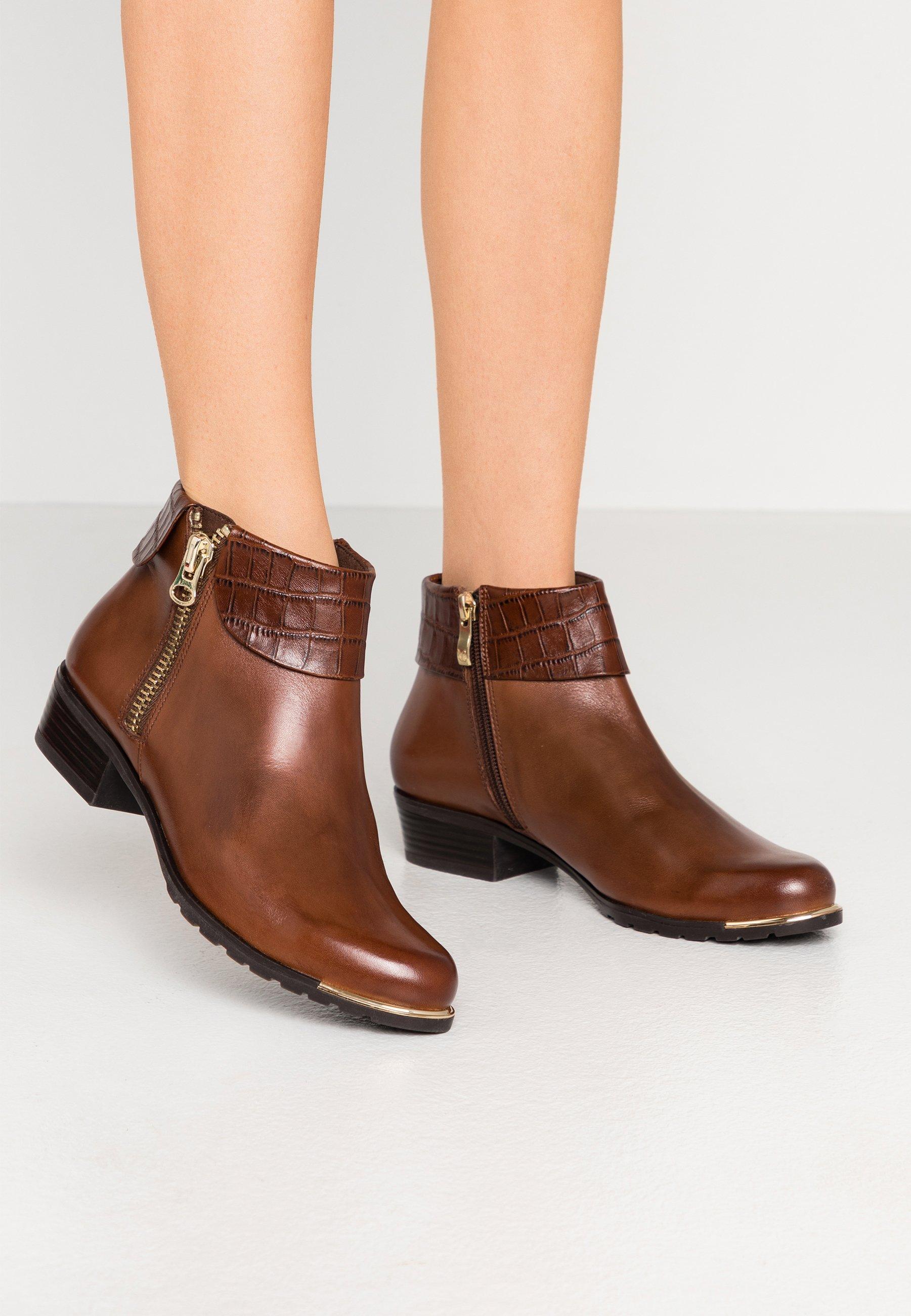 Caprice Ankle boots - cognac - Zalando
