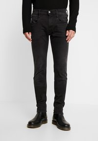 Replay - ANBASS HYPERFLEX CLOUDS - Slim fit jeans - black - 0