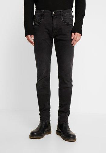 ANBASS HYPERFLEX CLOUDS - Slim fit -farkut - black