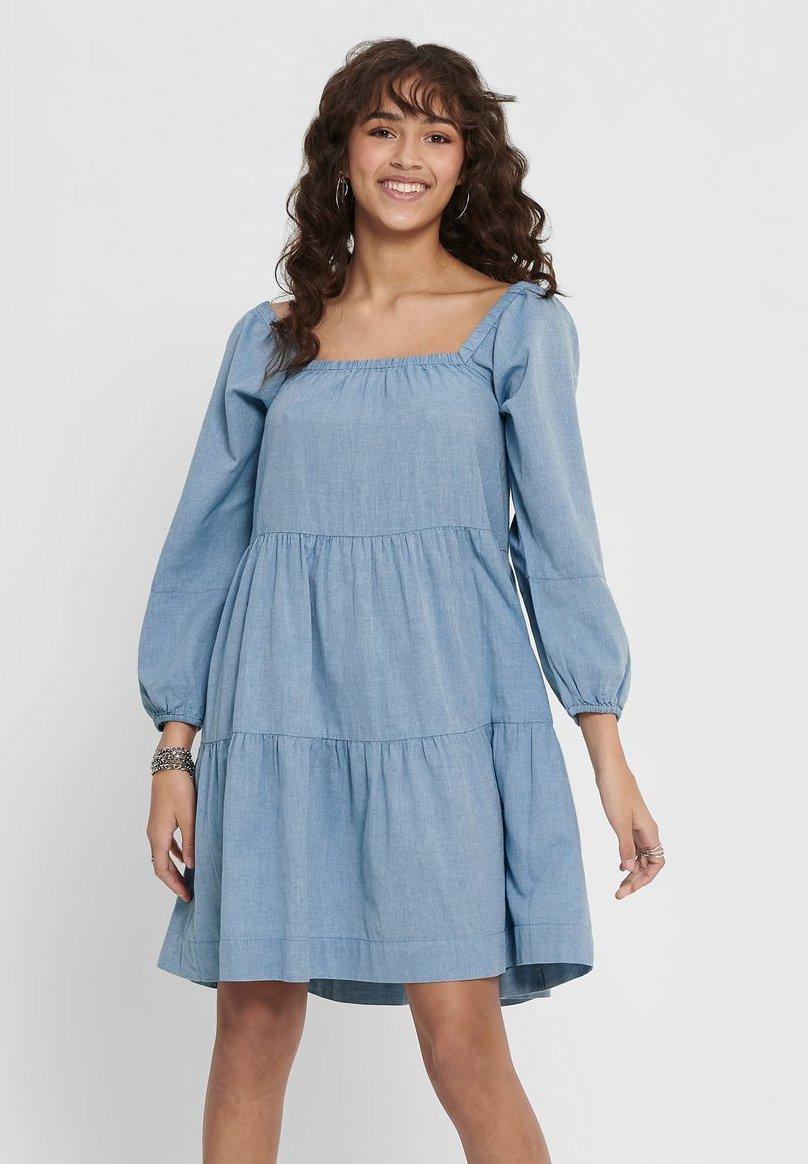 Femme KLEID SQUARE NECK - Robe d'été
