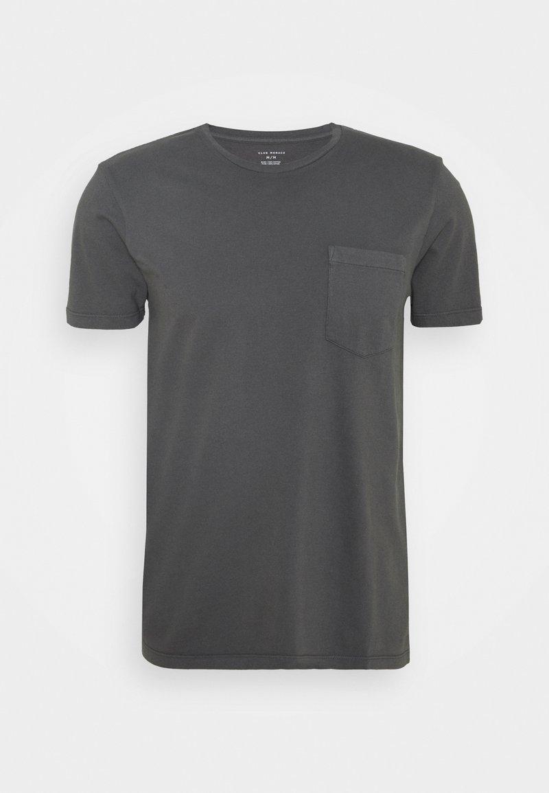 Club Monaco - WILLIAMS - T-shirt - bas - grey