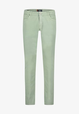 Straight leg jeans - leafgreen plain