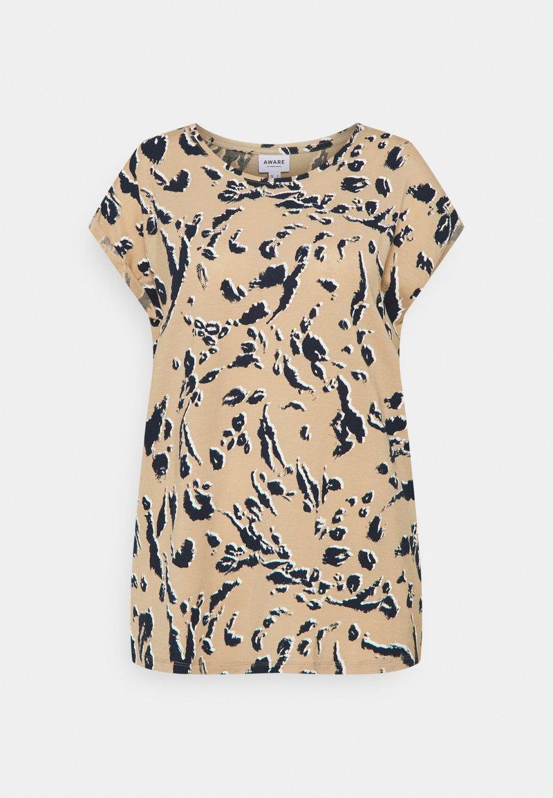 Vero Moda Tall - VMAVA PLAIN - Print T-shirt - hailey