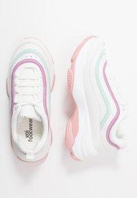 Koi Footwear - VEGAN LIZZIES - Trainers - white/light pink/multicolor - 3