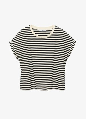 BASIC  - T-shirt print - zwart