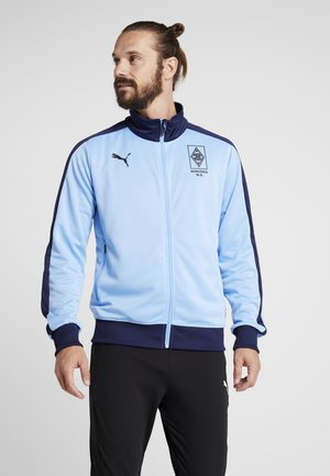 BORUSSIA MÖNCHENGLADBACH TRACK JACKET - Squadra - team light blue peacoat