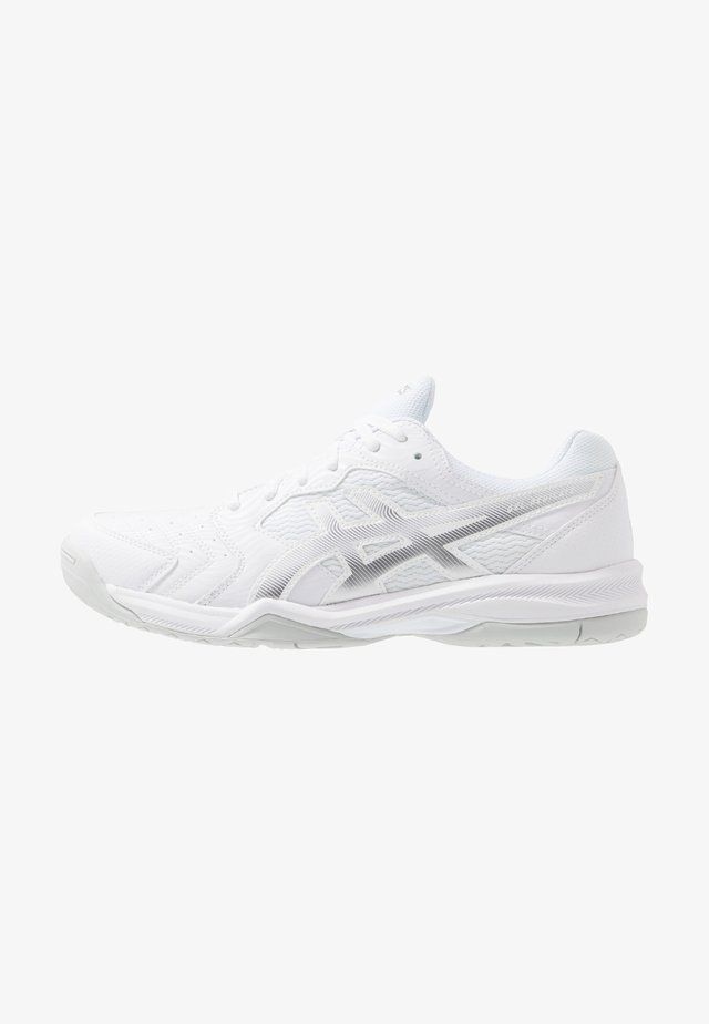 GEL DEDICATE 6 - All court tennisskor - white/silver