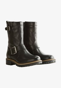Travelin - Cowboy/Biker boots - black - 0
